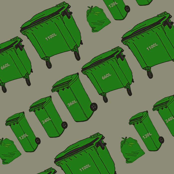 Commercial and Residential bin hire in Seaford